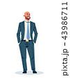 人 起業家 実業家のイラスト 43986711