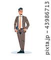 オフィス ビジネス 仕事のイラスト 43986713
