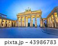 ベルリン ドイツ ブランデンブルクの写真 43986783