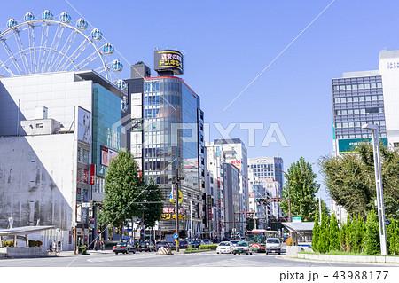 名古屋都市風景 栄交差点 43988177