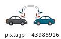 バッテリー 電池 車のイラスト 43988916