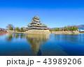 城 城郭 お城の写真 43989206