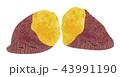 焼き芋(二つ割) 43991190