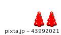 飾り デコレーション クリスマスツリーの写真 43992021