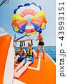 パラセーリング パラセイリング 海の写真 43993151