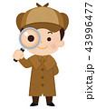 探偵 男性 43996477