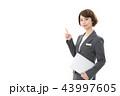 ビジネスウーマン 女性 人物の写真 43997605