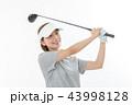 ゴルフ ゴルファー 女性の写真 43998128