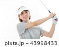 ゴルフ ゴルファー 女性の写真 43998433