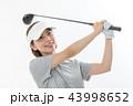 ゴルフ ゴルファー 女性の写真 43998652