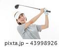 ゴルフ ゴルファー 女性の写真 43998926