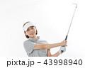 ゴルフ ゴルファー 女性の写真 43998940