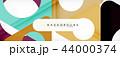ジオメトリック 幾何学的 背景のイラスト 44000374