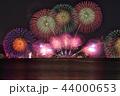びわ湖大花火大会 夜景 花火の写真 44000653