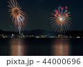 びわ湖大花火大会 夜景 花火の写真 44000696