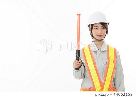 若い女性 土木作業員 44002158