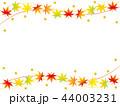 紅葉 もみじ 葉のイラスト 44003231
