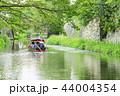 八幡堀 近江八幡 屋形船の写真 44004354