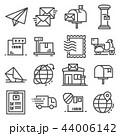 アイコン 運行 ポストのイラスト 44006142