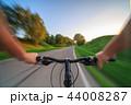 自転車 小道 道の写真 44008287