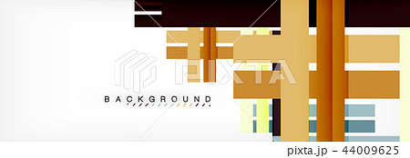 Minimal line design abstract background 44009625