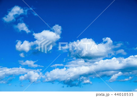 空 青空 雲 44010535