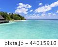 海 モルディブ 夏の写真 44015916