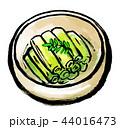 筆描き 野菜 食物 ふきの煮物 44016473