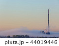 A chimney in the fog 44019446