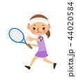 テニス 女性 44020584