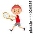 ベクター テニス ラケットのイラスト 44020586