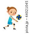 バレーボール 女性 44021045