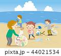ゴミ問題 海岸清掃 44021534