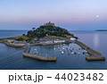 drone shot of St Michaels Mount Cornwall 44023482