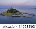 drone shot of St Michaels Mount Cornwall 44023593