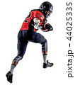 american football player man isolated 44025335