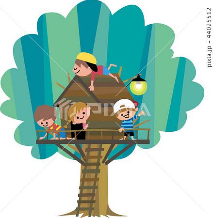 わんぱくツリーハウス 44025512