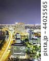 福岡タワーから見る福岡市の素晴らしい夜景 44025565