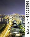 福岡タワーから見る福岡市の素晴らしい夜景 44025566