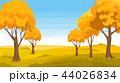 景色 風景 秋のイラスト 44026834