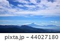 八ヶ岳からの眺望(青空と富士山) 44027180