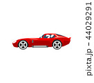 四輪車 自動車 車のイラスト 44029291