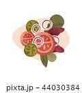 サラダ サラダ 食のイラスト 44030384