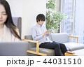 タブレット アジア人 ビジネスの写真 44031510