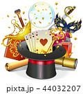 魔術 魔法 マジックのイラスト 44032207