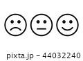 顔 面 面子のイラスト 44032240
