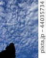 うろこ雲の空 44035734