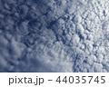 うろこ雲の空 44035745