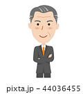シニア ベクター ビジネスマンのイラスト 44036455