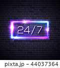 ネオン ベクタ ベクターのイラスト 44037364